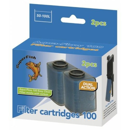 Easy Click Cartridges  Aqua Flow 100  2 Pcs