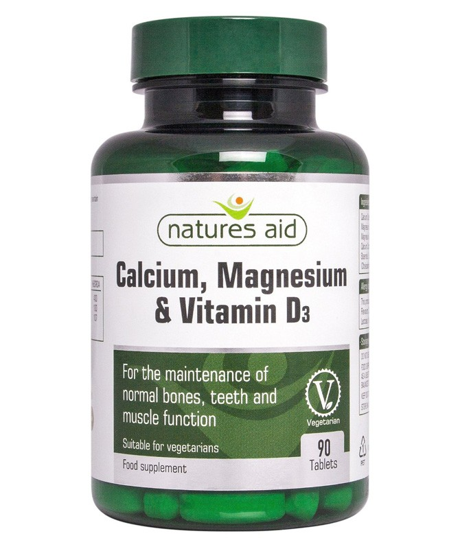 Calcium Magnesium And Vitamin D3 Food Supplement 90 Caps