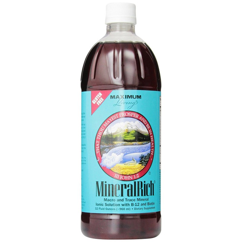 Maximum Living, MineralRich 32 fl oz