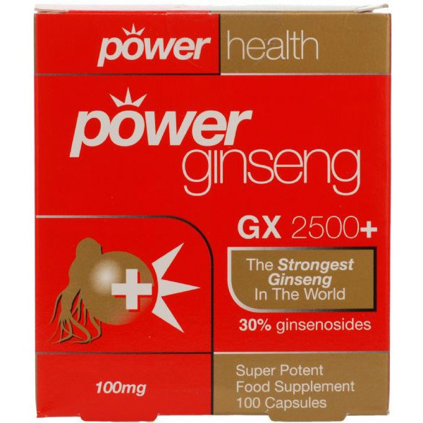 Power Health Power Ginseng GX2500+ 100 Capsules