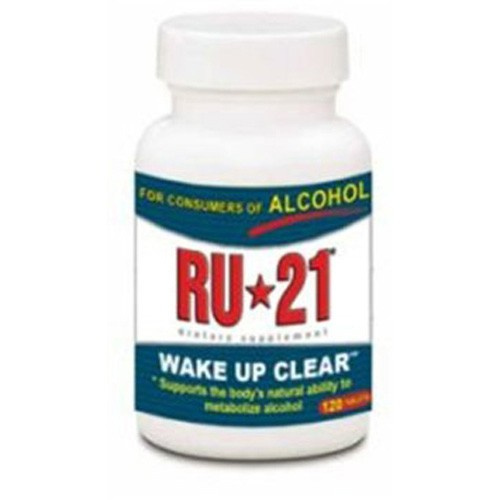 RU-21 RU-21 Wake Up Clear Dietary Supplement, 120 TABS