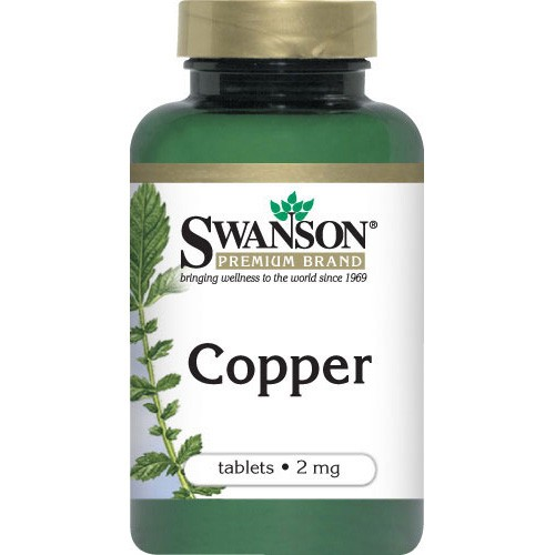 Swanson Copper 2mg, 300 Tablets