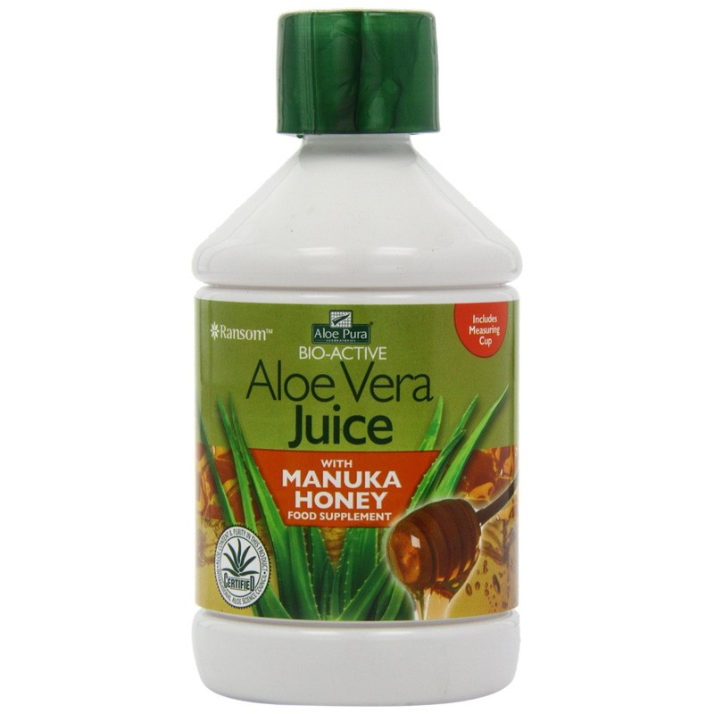 Optima Health Aloe Pura Aloe Vera Juice with Manuka Honey 500ml