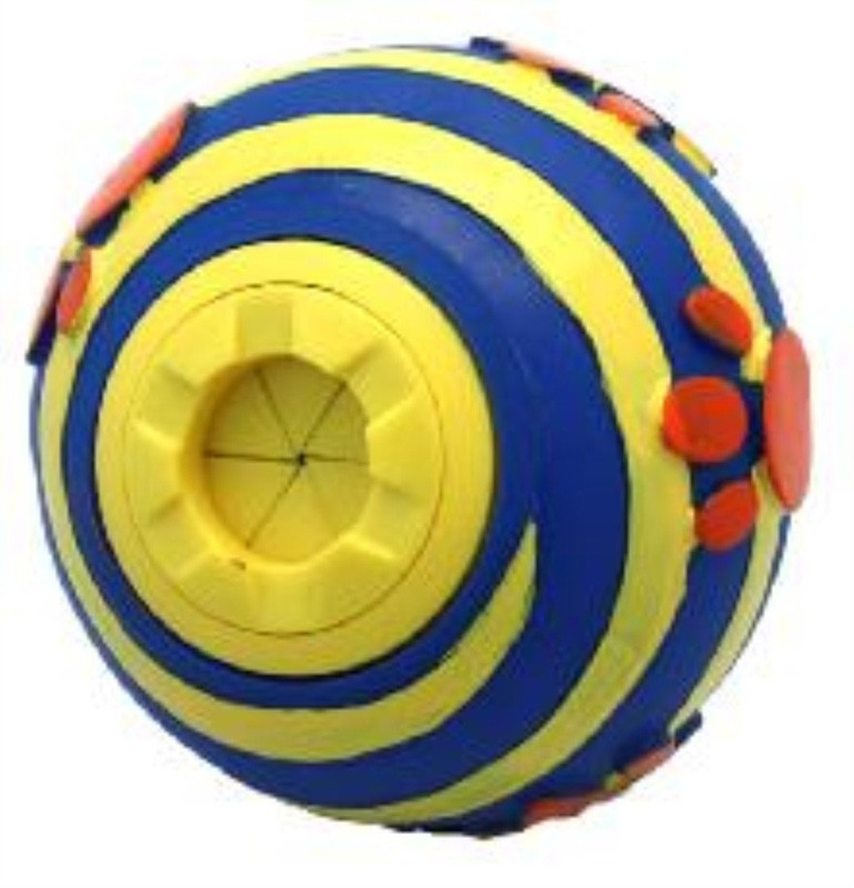 Wiggly Giggly Treat Ball Interactive Dog Toy