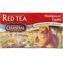 Celestial Seasonings Madagascar Vanilla Red Herbal Tea. Mada