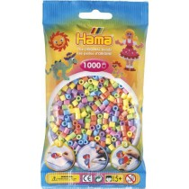 Hama Beads - Pastel Colour Mix (1000 Midi Beads)