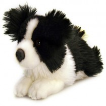 25cm Jessie Border Collie Soft Toy Dog with Name Tag