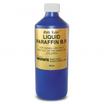 Liquid Paraffin B.P, Maintains A Healthy Bowel In Horses, 500ml