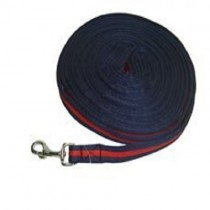 Protack Lunge Line 8.5 metre. Navy/Red. Cushion Web with Trigger Hook