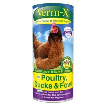 Verm-X Herbal Pellets for Poultry, Ducks & Fowl 250g