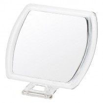 7x Magnification Rectangular Acrylic Hand/Stand Mirror