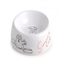 New Simon's Cat Ceramic Bowl Hard wearing ceramic bowl