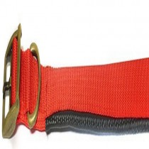 """Ancol Air Hold Padded Dog Collar Red 22"""""""