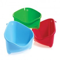 Corner Toilet Litter Mini Pan For Rabbits, Guinea Pigs & Rodents