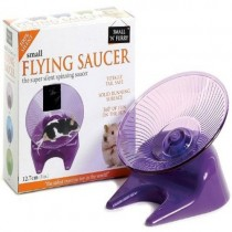 """Small N Furry Flying Saucer Exercise Wheel Small 5"""""""