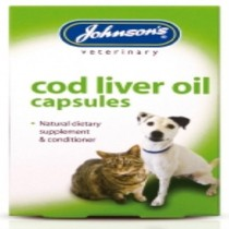 Johnsons Veterinary Products Cod Liver Capsules