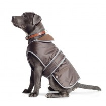 Ancol Muddy Paws Coat and Chest Protector, XL, Chocolate