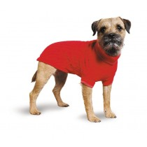 Muddy Paws Cable Knit Sweater Red Medium