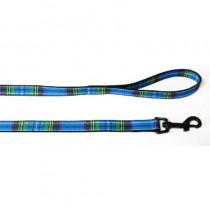 Nylon Lead Tartan Blue 1.2m X19mm Sz 1-9