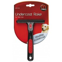 Mikki Undercoat Rake for Double/ Thick Coats