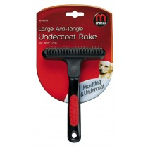 Mikki Large Anti Tangle Undercoat Rake for Thick Coats