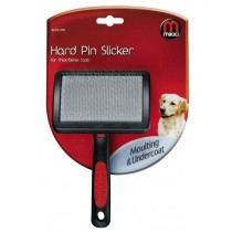 Mikki Hard Pin Slicker for Thick Coats, Large