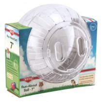 Superpet Clear Run-About Ball, 7-inch
