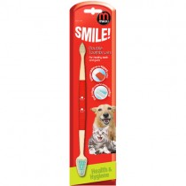 Mikki Dual Toothbrush for Dogs
