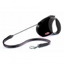 Flexi Comfort Basic Lead, Upto 20 Kg, Medium, 5 m, Black