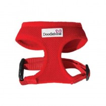 Doodlebone Soft Padded Dog Harness, Small, Red