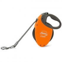 Nobby Flexi Giant Lead Rope for Dog, 8 m, Orange