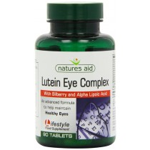 Natures Aid Lutein Bilberry Eye 90 Tablets
