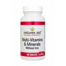Natures Aid Multi Vitamins and Mineral 60 Tablets