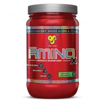 BSN, Non Caffeinatted Amino X Green Apple, Pack (1 x 435 g)