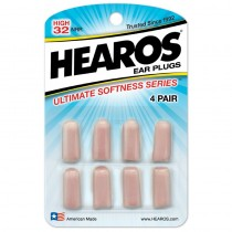 Hearos, Ultimate Softness Ear Plugs 8 pc