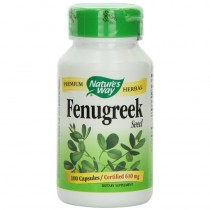 Natures Way, Fenugreek Seed 610 Mg 100 Vcaps