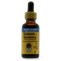 Nature's Answer, Echinacea/Goldenseal W/Organic Alcohol 1 Fl Oz