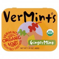 Vermints, Organic Ginger Mint 40g
