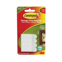 Command, Small Picture Hanging Strips (1 Pack of 4 Sets)