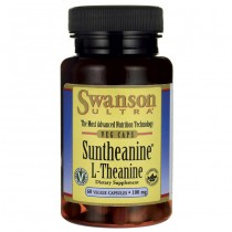 Swanson Ultra, Suntheanine L-theanine 100mg 60 Capsules
