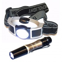 Rolson 61727 Head Lamp with Torpedo Torch