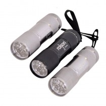 Rolson 61760 9 LED Torch Set