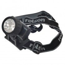Rolson 60738 2 in 1 LED Head Lamp With Band