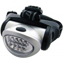 Am-Tech 8 LED Headlight; 3 Function