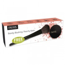 INIKA Barely Blushing Kit, Peachy Keen