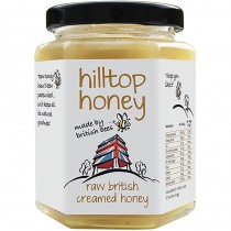 Hilltop Honey Raw British Creamed Honey 340 g