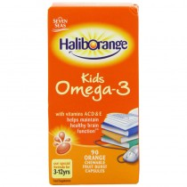 Seven Seas Haliborange Kids Omega-3 Orange Chewable Caps
