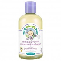Earth Friendly Baby Calming Lavender Shampoo and Bodywash Ecocert