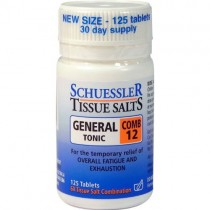 Schuessler Combination 12 Tissues Salts 125 Tablet