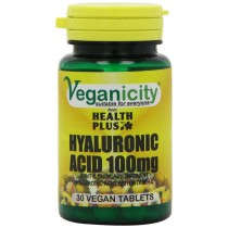 Veganicity Hyaluronic Acid 100mg Joint And Anti-Ageing - 30 Tabs